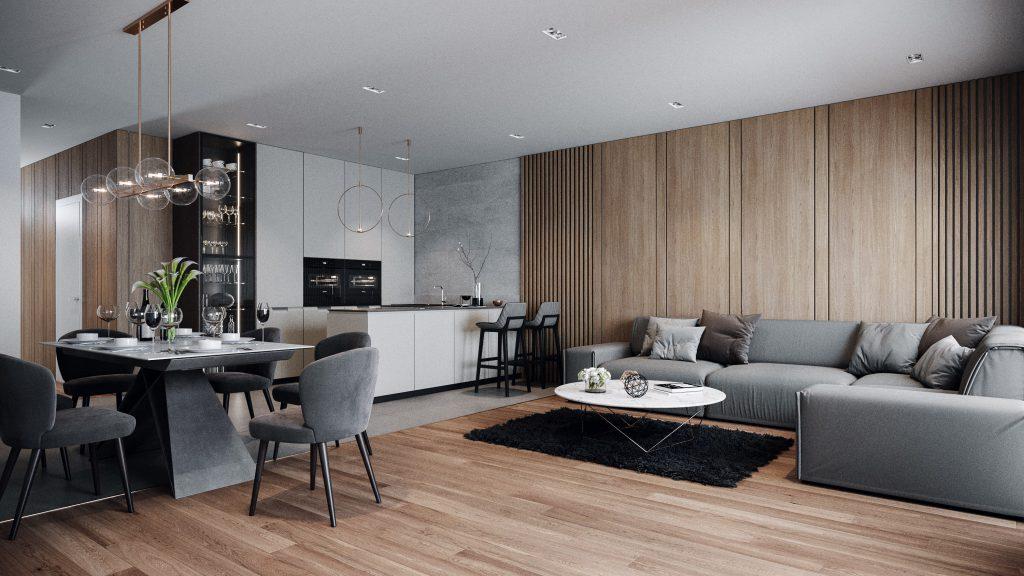 Projet 88 - Intérieur appartement